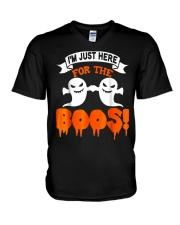 I'm Just Hear For The Boos Halloween T Shirts V-Neck T-Shirt thumbnail