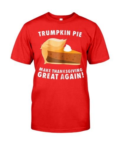 Trumpkin Pie Make Thanksgiving Great Again TShirts