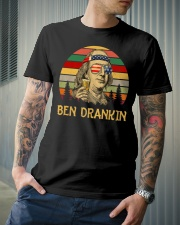 Ben Drankin 4th of July T Shirts Hoodie Classic T-Shirt lifestyle-mens-crewneck-front-6