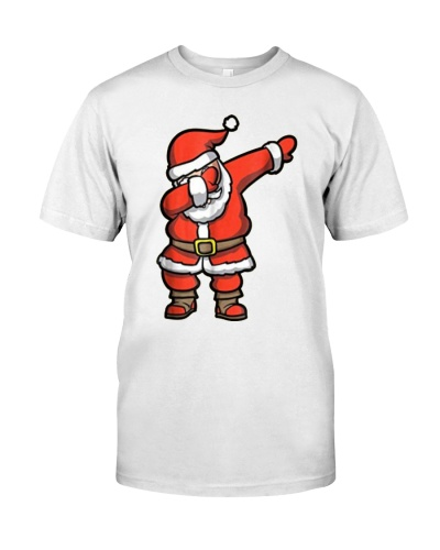 Dabbing Santa T-Shirt - Santa Claus Christmas Tee