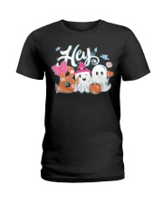 Hey Boo Simply Southern Glitter T Shirt Hoodie Ladies T-Shirt thumbnail