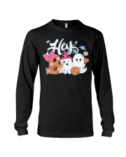 Hey Boo Simply Southern Glitter T Shirt Hoodie Long Sleeve Tee front