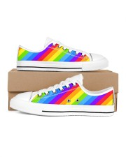 Love is Love Shoes Men's Low Top White Shoes inside-right-outside-right