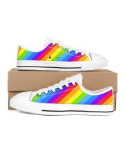 Love is Love Shoes Women's Low Top White Shoes thumbnail