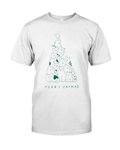 MERRY CATMAS T-Shirts Hoodie Sweatshirt