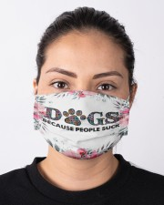 Dogs Because People Suck Masks FaceMask Cloth face mask aos-face-mask-lifestyle-01