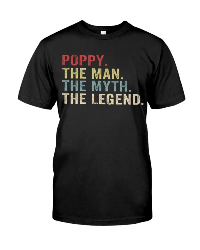 Poppy The Man The Myth The Legend T Shirts Hoodie
