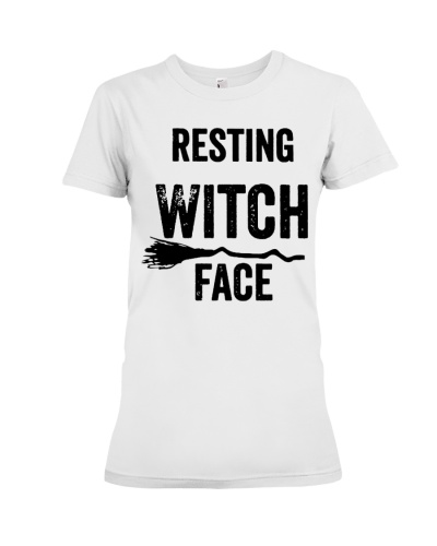 Resting Witch Face Shirts Hoodie Sweatshirt