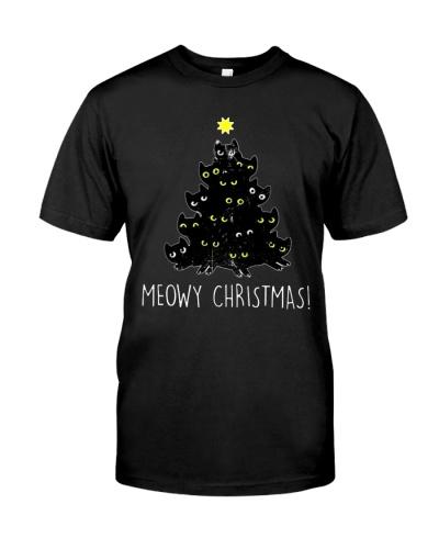 MEOWY CHRISTMAS MEOWY CHRISTMAS T Shirts Hoodie