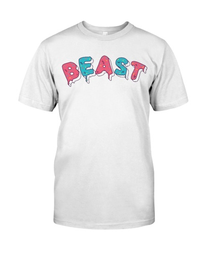 Mr Beast Merch T Shirt Hoodie Frosted Beast