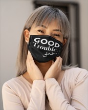 good trouble face mask JohnLewis Cloth face mask aos-face-mask-lifestyle-17