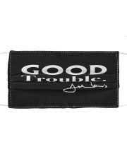 good trouble face mask JohnLewis Cloth face mask front