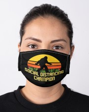Social Distancing Champion Bigfoot Mask Cloth face mask aos-face-mask-lifestyle-01