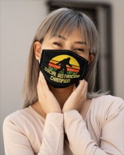 Social Distancing Champion Bigfoot Mask Cloth face mask aos-face-mask-lifestyle-17