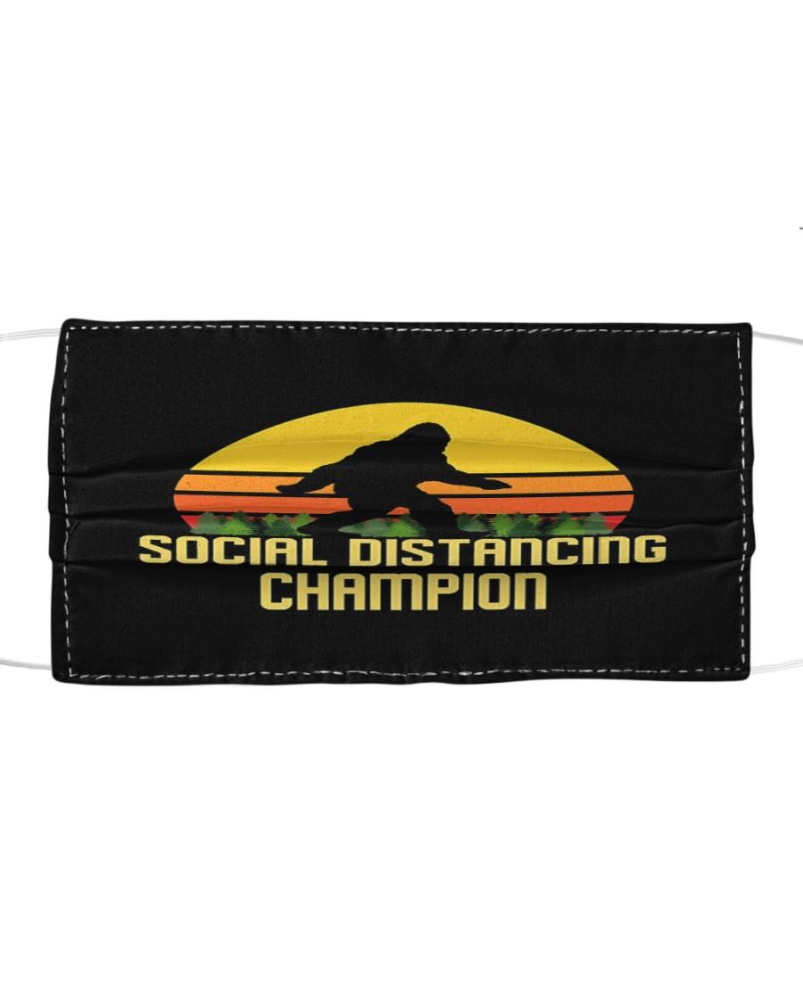 Social Distancing Champion Bigfoot Mask Cloth face mask