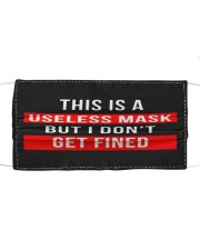 this is a useless mask but i dont get fined Mask Cloth face mask front