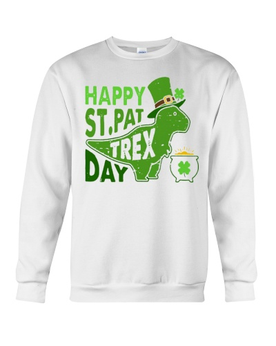 Happy St Pat Trex Day Shirts Hoodie Sweatshirt