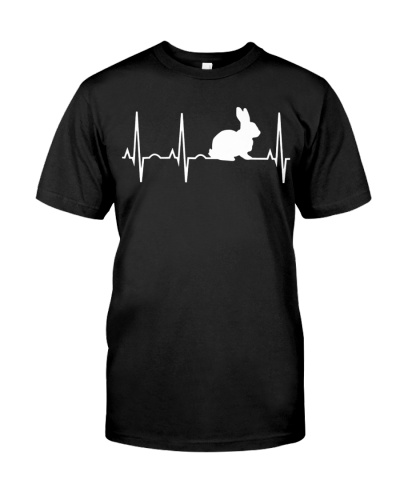 Bunny Heartbeat Bunny Lovers T Shirts Hoodie