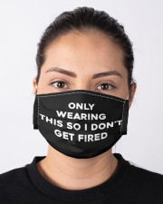 Only Wearing this so i don't GET FIRED  Face Masks Cloth face mask aos-face-mask-lifestyle-01
