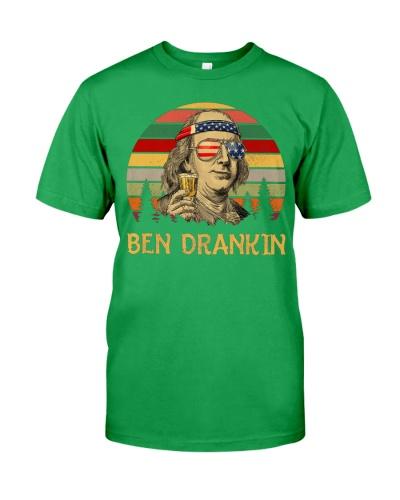Ben Drankin 4th of July 2019 T Shirts Hoodie