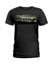 Nowt All Who Wander Are Lost Ladies T-Shirt thumbnail