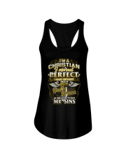 I AM A CHRISTIAN AND PROUD OF IT Ladies Flowy Tank thumbnail