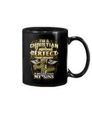 I AM A CHRISTIAN AND PROUD OF IT Mug thumbnail