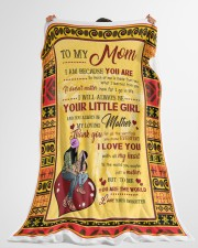 "To My Mom Large Fleece Blanket - 60"" x 80"" aos-coral-fleece-blanket-60x80-lifestyle-front-10"