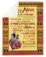 "To My Mom Large Sherpa Fleece Blanket - 60"" x 80"" thumbnail"
