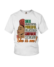She is Me Youth T-Shirt thumbnail