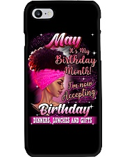 May it's my Birthday Phone Case thumbnail