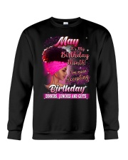 May it's my Birthday Crewneck Sweatshirt thumbnail