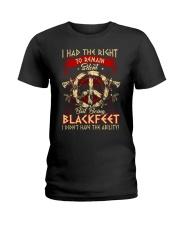 Being Blackfeet Ladies T-Shirt thumbnail