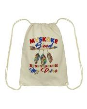 Mvskoke Pride Drawstring Bag thumbnail