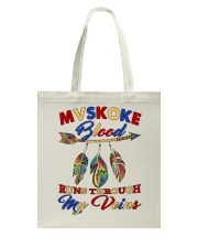 Mvskoke Pride Tote Bag thumbnail