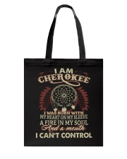 I am Cherokee Tote Bag thumbnail