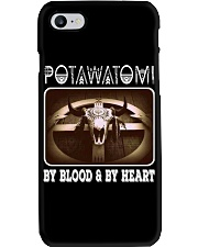 Potawatomi By Blood And Heart Phone Case thumbnail
