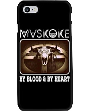 Mvskoke By Blood And By Heart Phone Case thumbnail