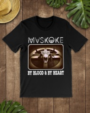 Mvskoke By Blood And By Heart Classic T-Shirt lifestyle-mens-crewneck-front-18