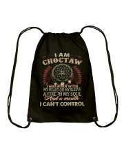 I am Choctaw Drawstring Bag thumbnail