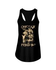 Proud to be Choctaw Ladies Flowy Tank thumbnail