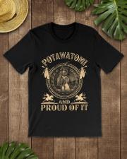 Potawatomi Proud Classic T-Shirt lifestyle-mens-crewneck-front-18
