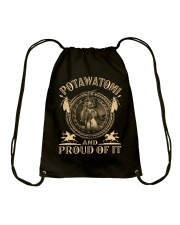 Potawatomi Proud Drawstring Bag thumbnail