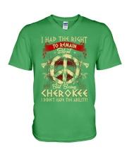 Being Cherokee V-Neck T-Shirt thumbnail