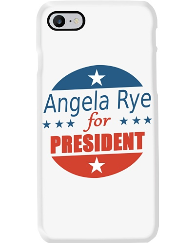 Angela Rye - For President Phone Cases