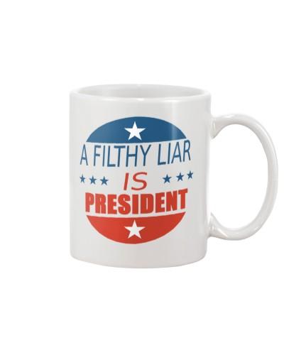 Trump Filthy Liar Mug
