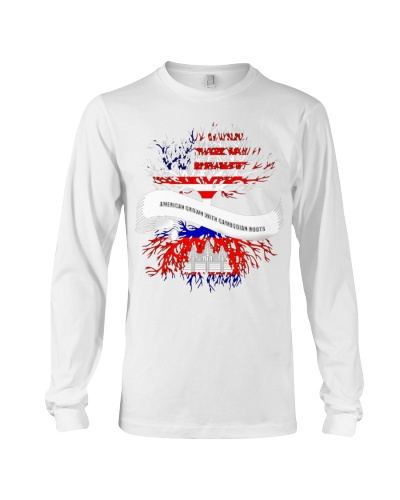 American Grown With Cambodian Roots Great Tee