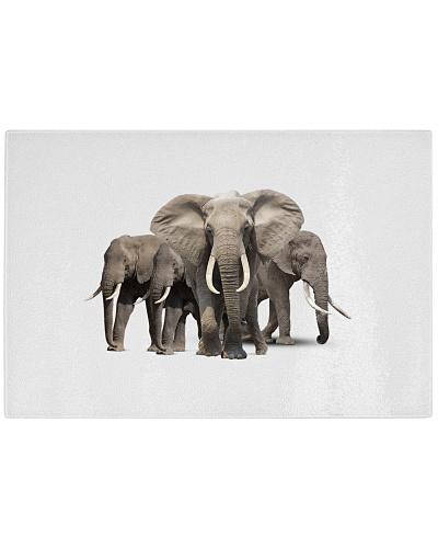 Elephants Cutting Board