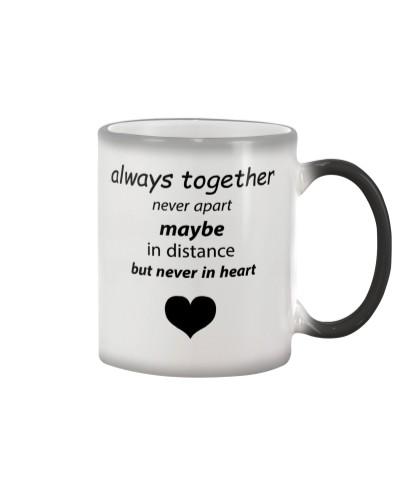 always together never apart