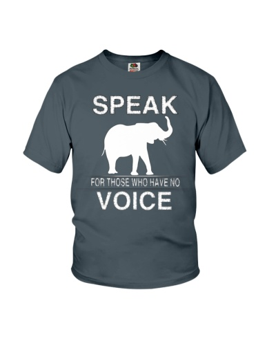 Speak for those who have no voice
